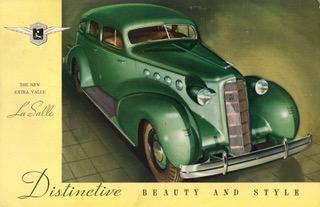 1935 lasalle four door touring sedan 9682080887 1