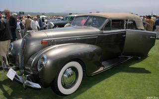 1938 lincoln k v 12 lebaron convertible sedan fvl