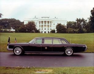 1972 presidential limousine washington dc 1