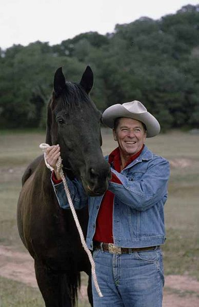 388px reagan with horse