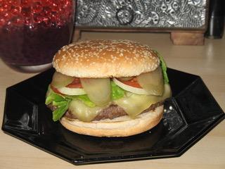 Cheeseburger maison 2