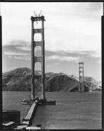 Construction golden gate bridge