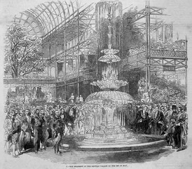 Exposition 1851 fontaine