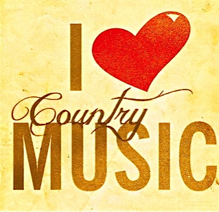 I love country music