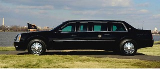 Limousine obama