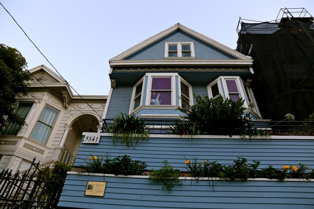 Maison bleue sf
