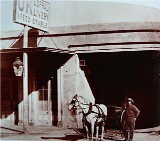 Photo 40 ok corral photo courtesy arizona historical society tucson