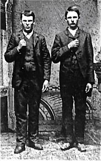 Photo 6 jesse et frank james en 1872