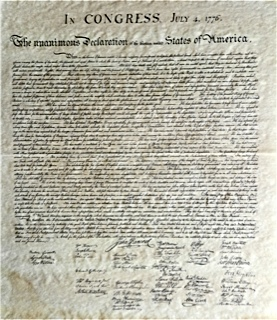 Photo in congres july 4 1776 a mettre a 1788 apres declaration independance