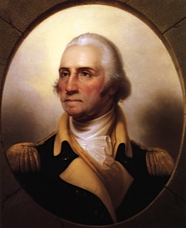 Portrait de george washington
