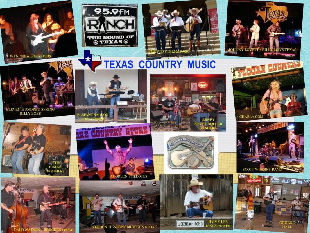 Texas county music 1