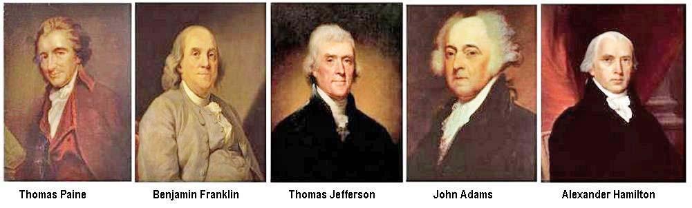 Usa constitution fondateurs