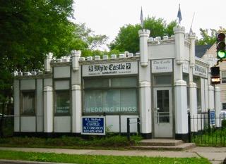 White castle building 8